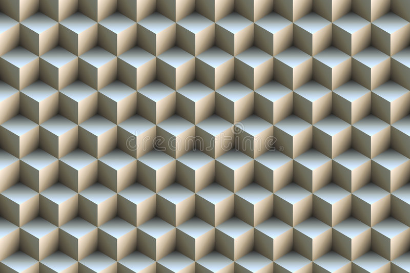 кубики предпосылки 3d голубые металлические бесплатная иллюстрация