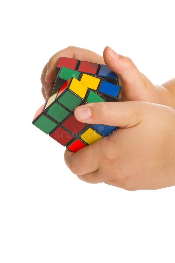 кубик делает rubic стоковые фото