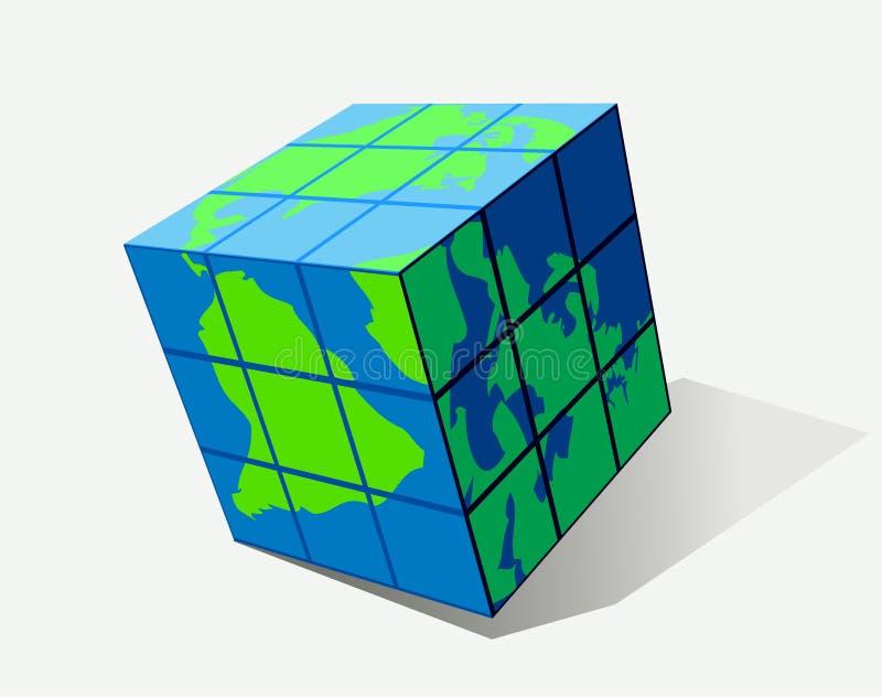 кубик иллюстрация штока