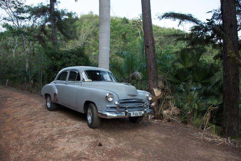 кубинец автомобиля старый стоковое фото rf