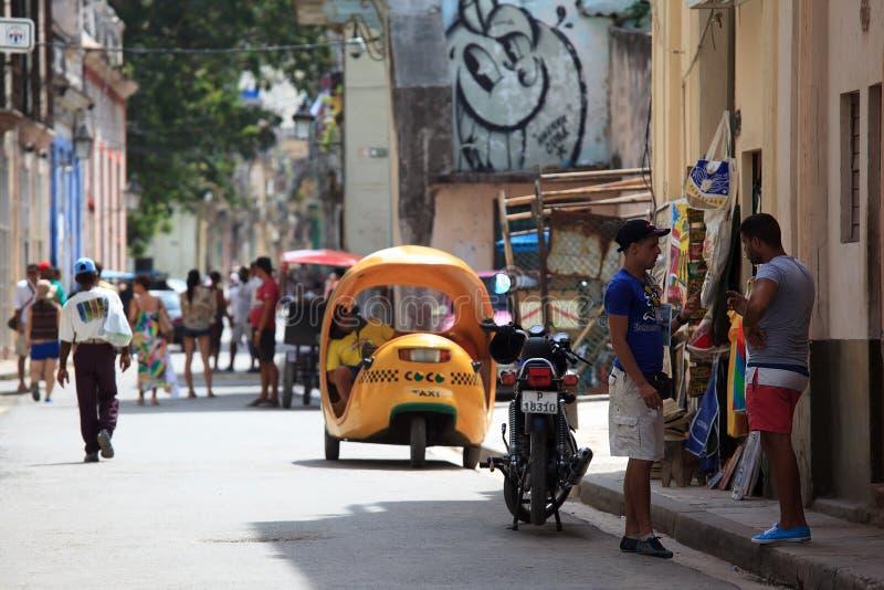 кубинская улица стоковые фото