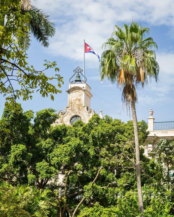 кубинский флаг стоковые фотографии rf