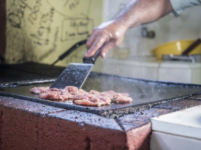 Кубинськая кухня - говядина стоковые фото