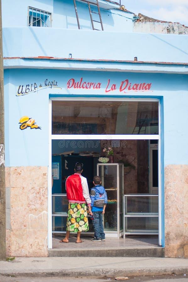 Кубинський магазин стоковое фото