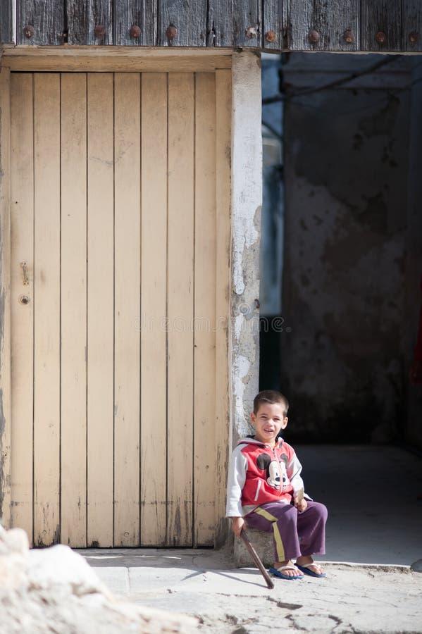 Кубинський мальчик стоковое фото