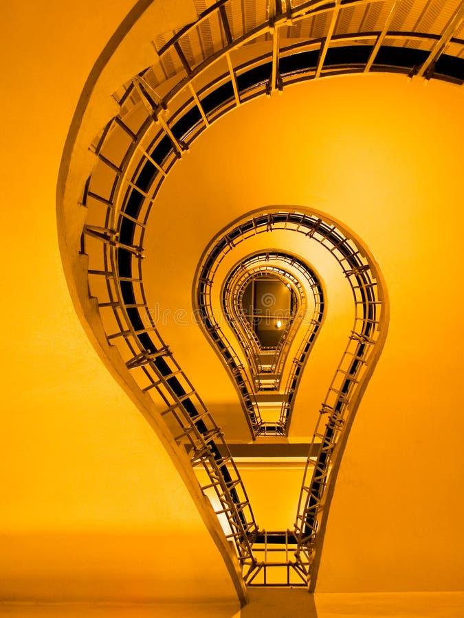 кубистические лестницы prague стоковое изображение rf