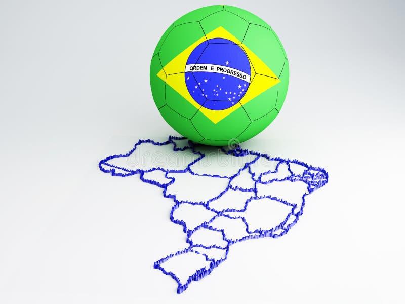 Кубок мира Бразилия 2014 бесплатная иллюстрация