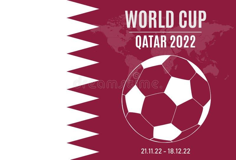 Кубок мира футбола: Катар 2022 стоковые изображения rf