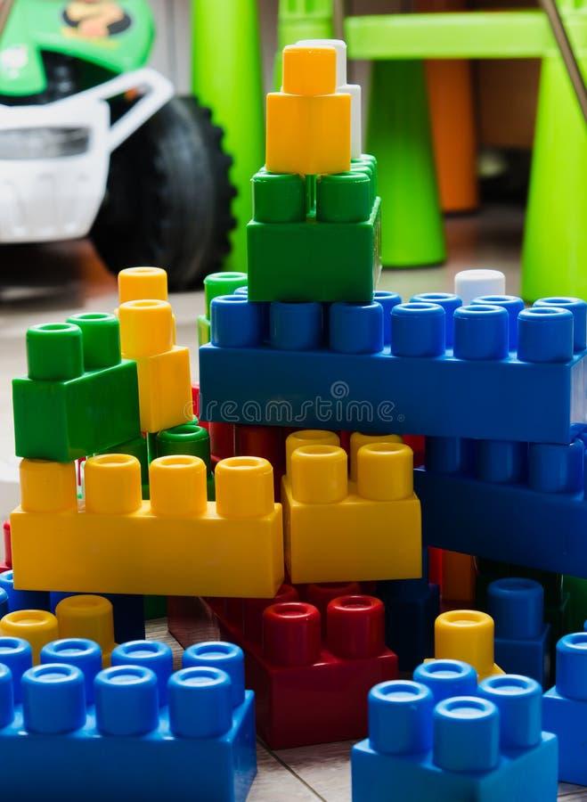 Кубы дизайнера ` s детей стоковое фото rf