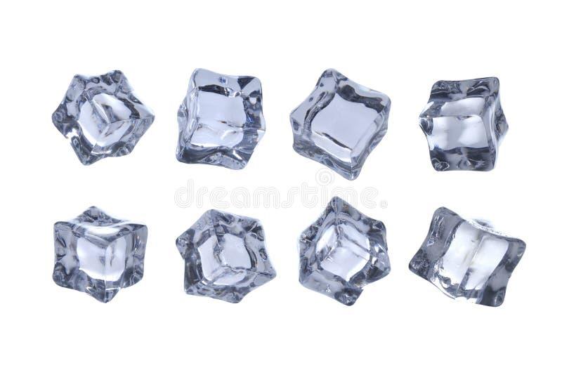 Кубы льда расплавили стоковые фотографии rf