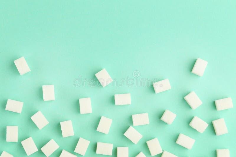 Кубы сахара стоковые фотографии rf