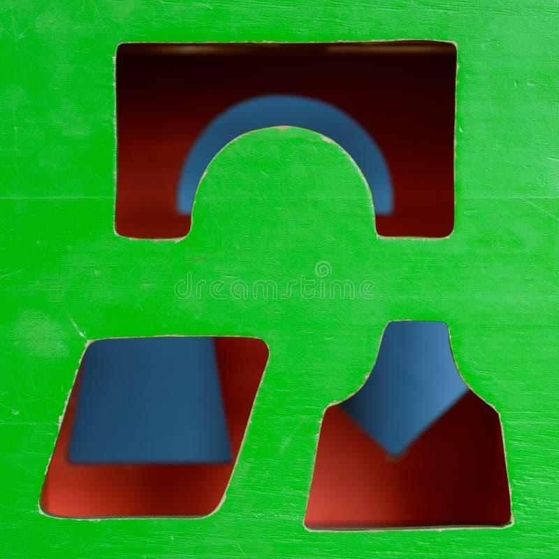Куб игрушки стоковые фото
