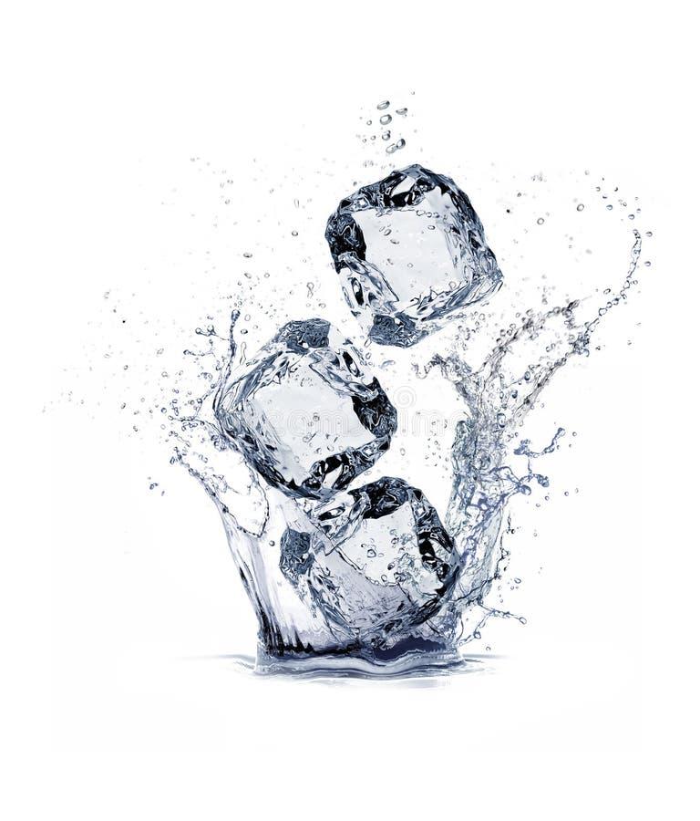 Куб льда стоковое фото rf