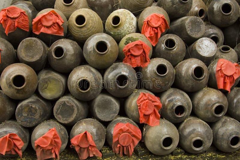 кувшины китайца ii стоковое фото rf