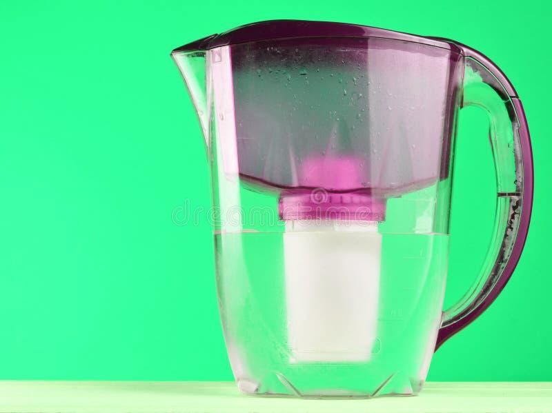 Кувшин водяного фильтра стоковые фото