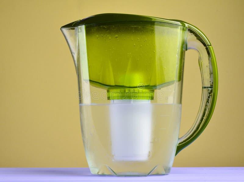 Кувшин водяного фильтра стоковое изображение rf