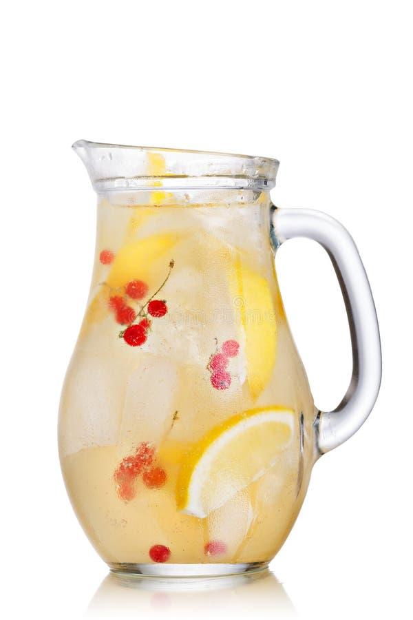 Кувшин лимонада стоковая фотография rf