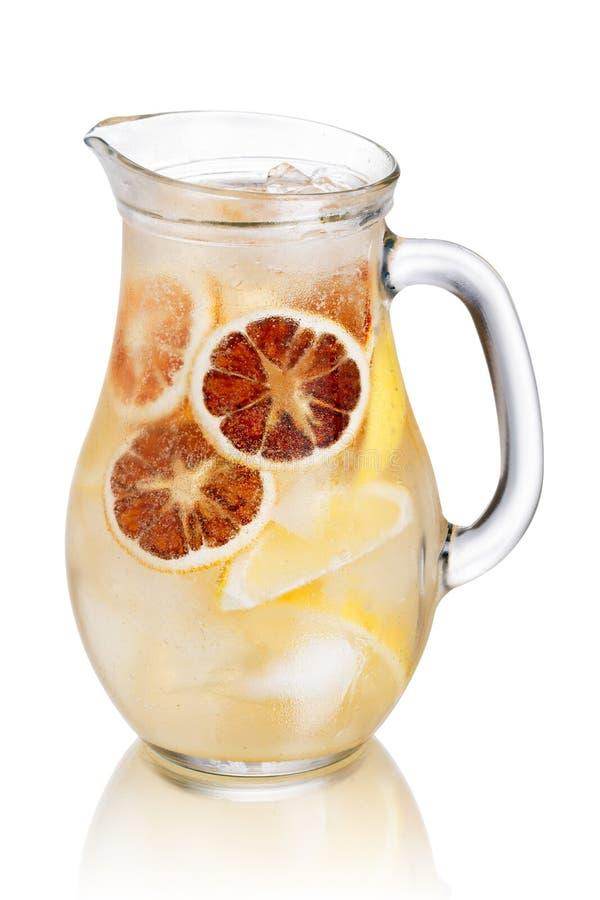 Кувшин лимонада стоковое изображение