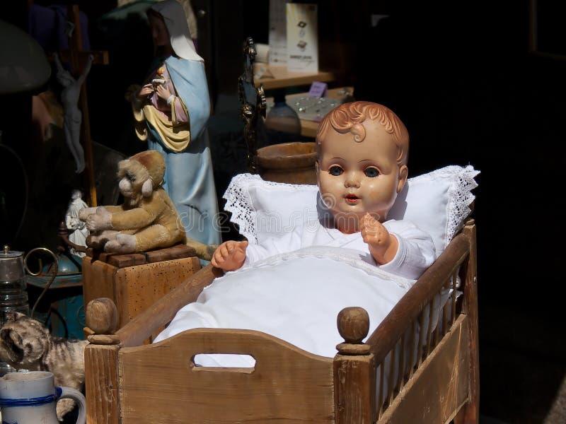 кукла вашгерда младенца стоковое изображение rf