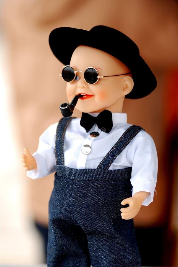 кукла китайца мальчика стоковое фото rf