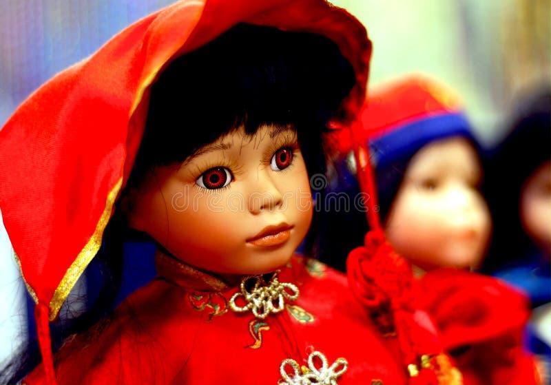 кукла 2 фарфоров стоковые изображения