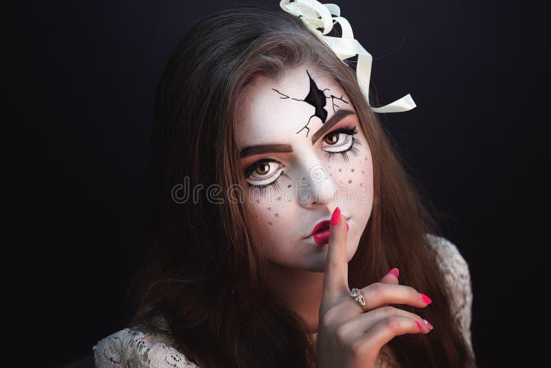 Кукла Briken стоковое изображение