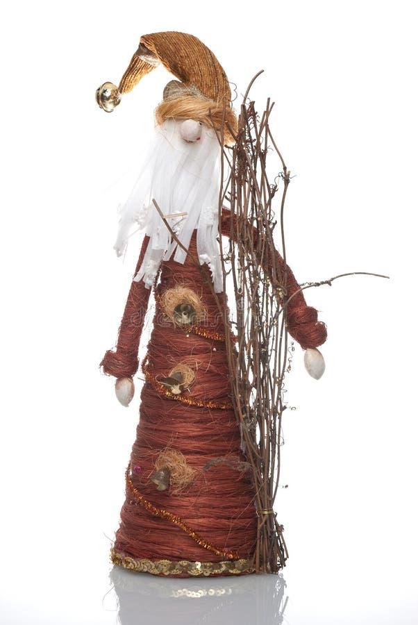 кукла santa claus стоковая фотография