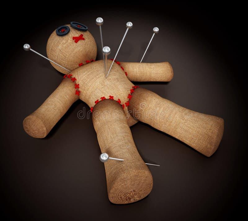 один кукла вуду с фотографией человека описание