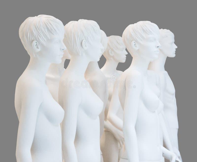 куклы дисплея нагие стоковая фотография rf