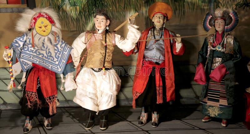 куклы тибетские стоковые изображения rf