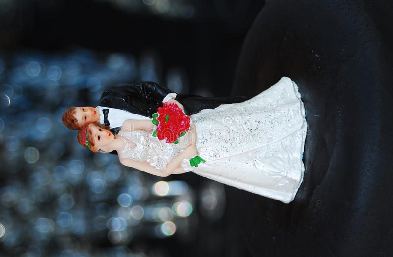куклы торта wedding стоковые изображения rf