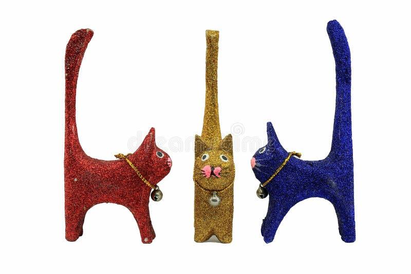 Кукла кота стоковые изображения