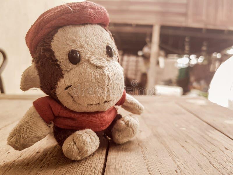 Кукла обезьяны стоковые фото