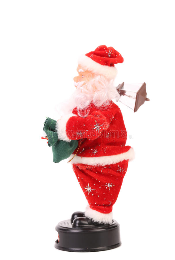 Кукла Санта Клауса. стоковое изображение