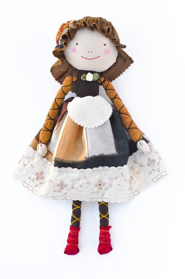Кукла ткани стоковая фотография