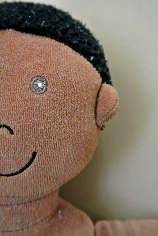 Кукла ткани стоковое изображение