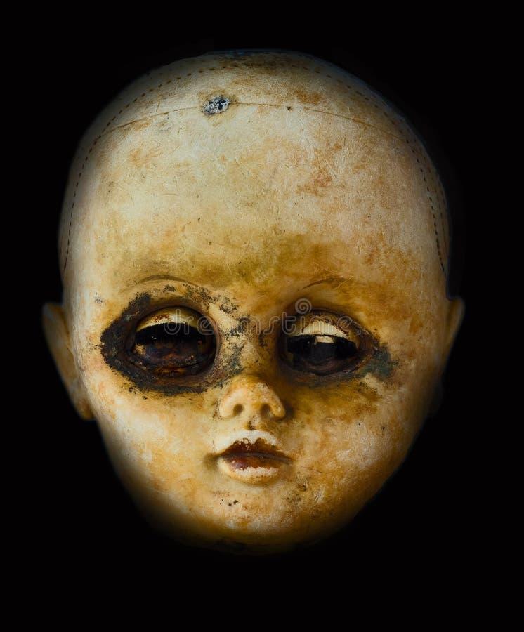 Кукла ужаса стоковые изображения