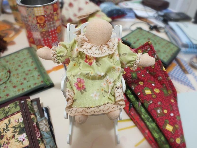 Куклы заплатки стоковые фотографии rf