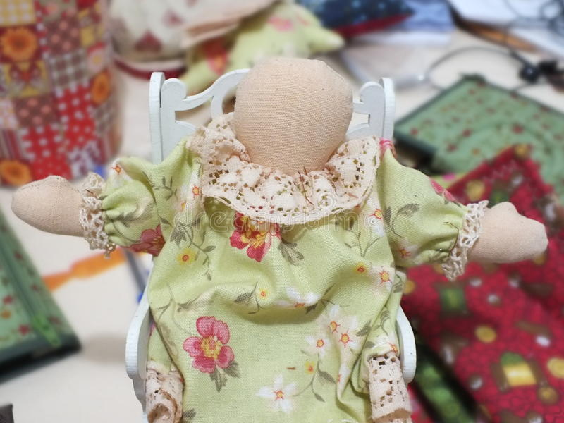 Куклы заплатки стоковые изображения rf
