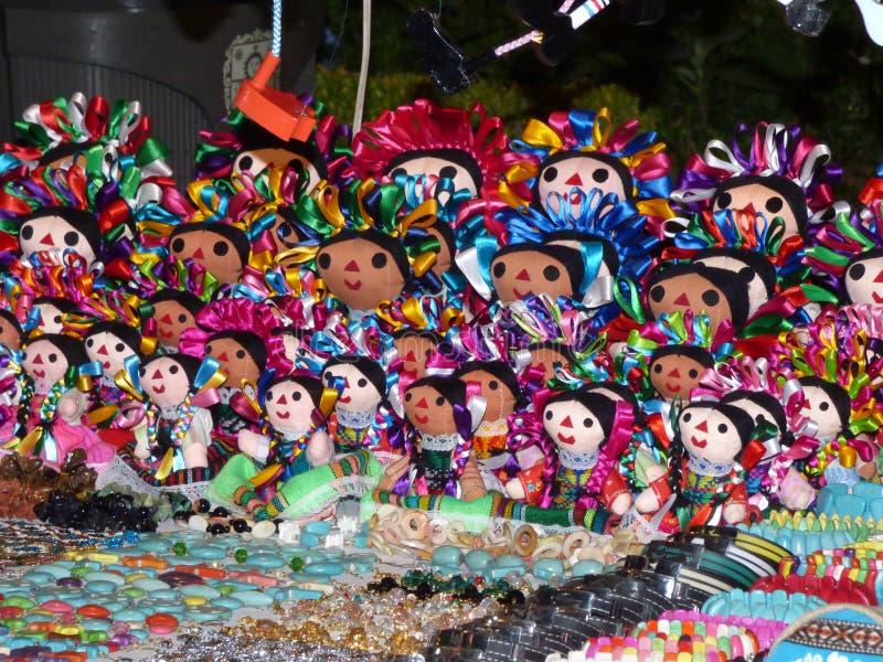 куклы мексиканские стоковые фото