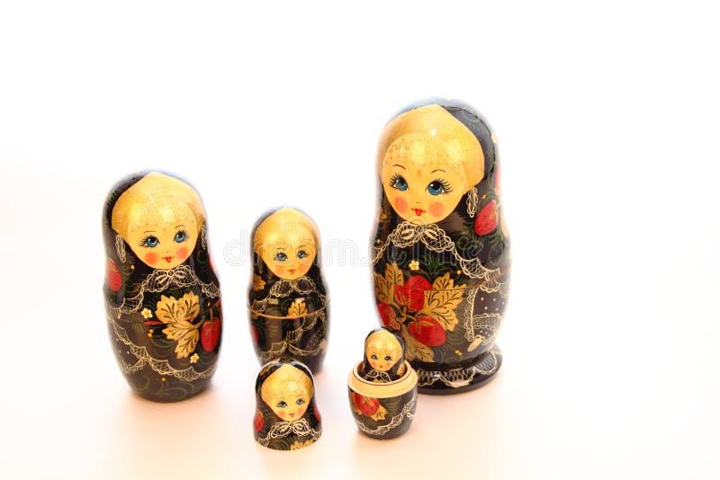 Куклы Babushka стоковое изображение