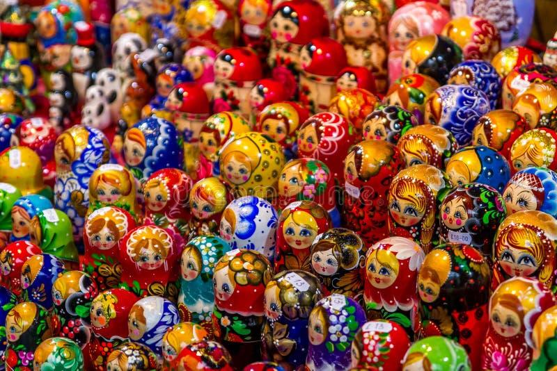 Куклы Russain стоковое изображение