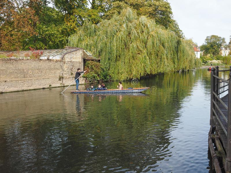 Кулачок реки бить в Кембридже стоковое фото rf