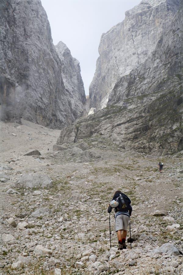 кулига восхождения alps юлианская стоковая фотография rf