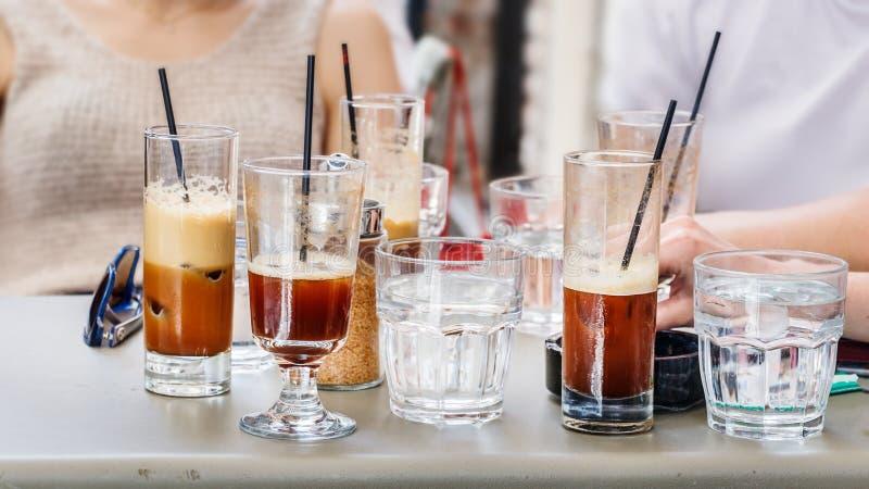 Культура грека кофе Frappe холодная стоковое изображение