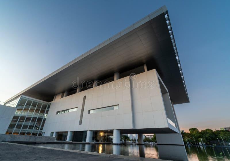 Культурное здание Форума Гуанаджуато на Леон-Мексико стоковое фото rf