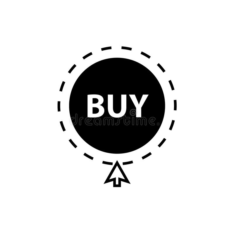 Купите значок с курсором мыши бесплатная иллюстрация