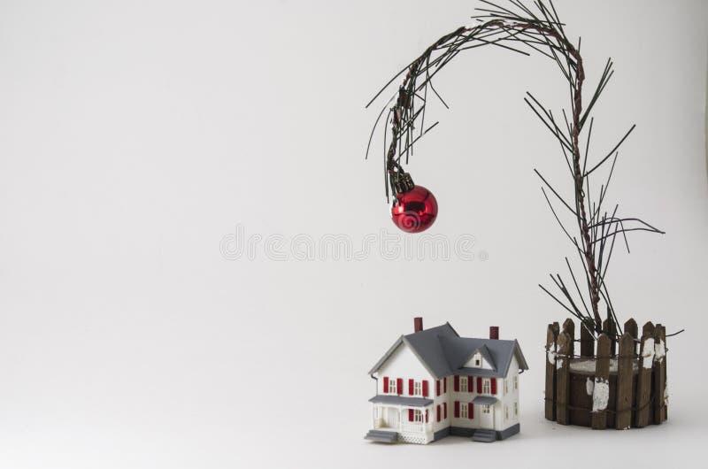 Купите дом для рождества стоковые изображения