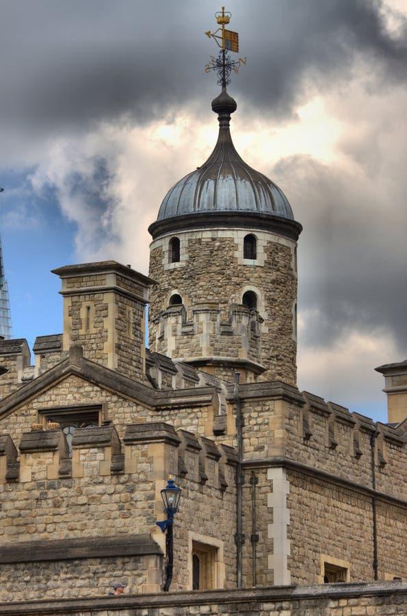 Куполы башни Лондона стоковая фотография rf