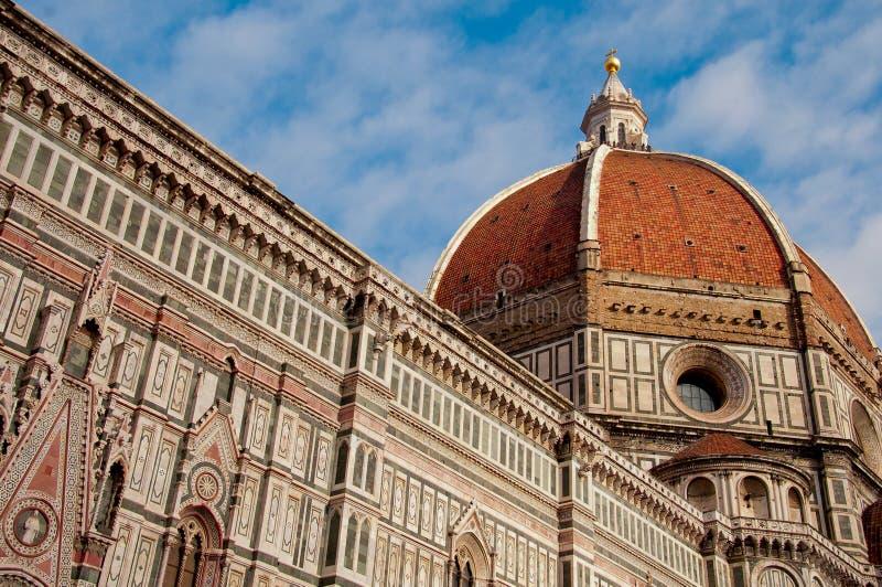 Купол Базилики de Сан Lorenzo, Флоренс стоковое фото rf